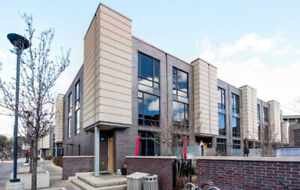 Rarely Offered End Unit, Three Storey Townhome