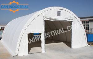 30x65x15 Portable Fabric Storage Building - SPRING SALE ON