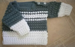 Hand made pullover sweater 3+ months