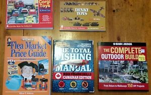 5 Instructional/Guide Hard Cover Books, exc cond, $5 for all