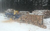 Cut and split firewood - delivery available