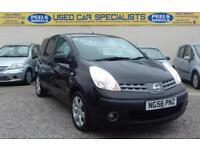 2006 (56) NISSAN NOTE SVE BLACK 1.6 16v * IDEAL FAMILY CAR * VERY CLEAN *