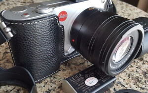 Leica T (silver) with 18-56mm lens