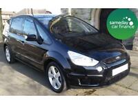 £189.56 PER MONTH 2009 BLACK FORD S-MAX 2.0 TITANIUM DIESEL MANUAL