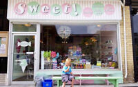 Sweet Candy Ice Cream downtown Guelph hiring  f/t p/t