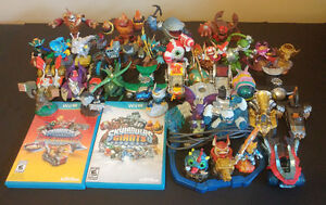 Skylanders Giants and Superchargers lot