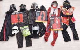 Bundle dress up costumes age 7-8 years £25 ono