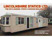 Mobile Homes for Sale - Static Caravans - Lincolnshire Statics - Free UK Delivery - 01949 843 221