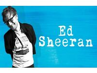 2 Ed Sheeran tickets + Hotel