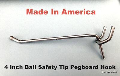 75 Pack 4 Inch All Metal Peg Hooks 18 To 14 Pegboard Slatwall Garage Kit
