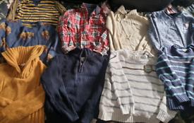 Age 7 jumper/shirt bundle