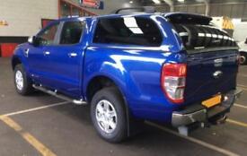 2014 BLUE FORD RANGER 2.2 TDCI 150 LTD 4WD CREW CAB PICKUP CAR FINANCE FR 58 PW