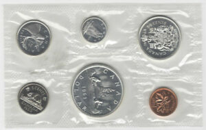 1963 Canada Uncirculated Silver Proof like Set
