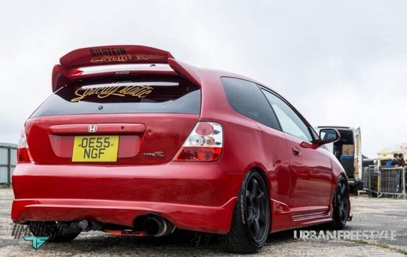 M2 Moto Sport End Can Ep2 Ep3 Type R Honda Civic In