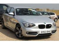 BMW 1 SERIES 2.0 116D SPORT 5D SERVICE HISTORY + JUST SERVICED AT BMW DEALER