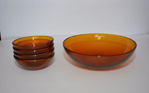 Brown Glass bowls