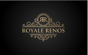 GENERAL CONTRACTOR: ROYALE RENOS (647)983-7252