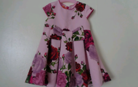 Ted baker dress 12-18 months comes with matching knickers