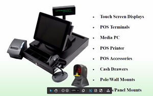 Point of Sale System POS  Touch Screen System Digital TV Menu