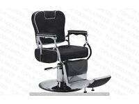 NEW HEAVY DUTY BLACK BARBER CHAIR BX-2902,CASH ON COLLECTION ONLY UK