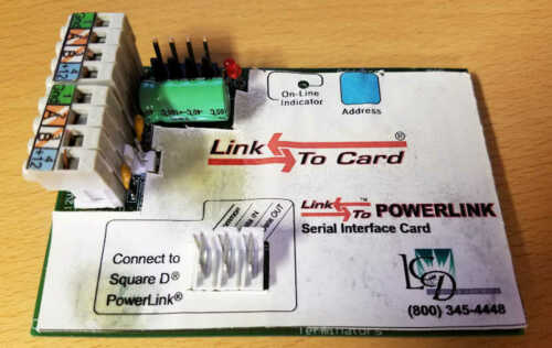 Link to Powerlink Serial Interface Card GR2400 Lighting Control Design Square D