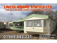 Static caravans for sale ~ free UK delivery