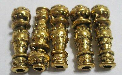 5pcs Tibetan Style Beads,  Spacer Beads Findings , imam, master beads for rosary