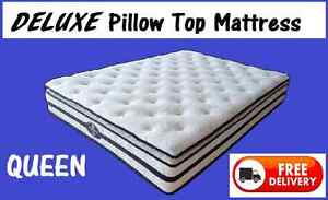QUEEN MATTRESS Deluxe Pillow Top Mattress - BRAND NEW New Farm Brisbane North East Preview