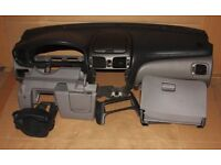 Left hand drive dashboard and airbag Nissan Almera N16 2000 - 2006 Europe LHD conversion part