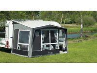 Caravan Porch Awning 3 x 2.4m grey