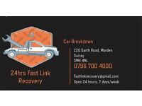 24hrs Fast Link Car Breakdown & Recovery Service - Fully Insured
