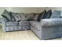 BRAND NEW PLUSH COUCHES CORNER OR 3+2 SEATER SOFA IN STOCK