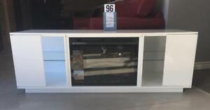 TV Stand with Fireplace **NEW**