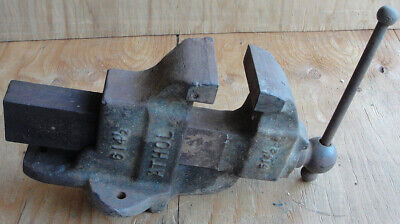 Antique Vintage Athol 614 12 Heavy Duty Bench Vise Awesome