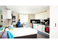 Studio Student Room in Grand Central, Liverpool (bathroom and kitchen ensuite!)