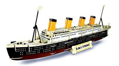 RMS Titanic: Woodcraft Quay Konstruktion Holz 3D Modell Bausatz P396 Age 9 Plus (Titanic Holz Modell)