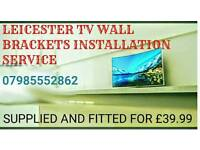 Leicester TV wall brackets