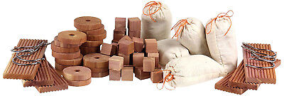 Moth Repellent Aromatic Cedar Blocks for Your Closet And Other Storage Needs