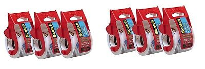 Scotch Heavy Duty Shipping Packaging Tape 2 X 800 - Clear 3 Tapes Pack Of 2