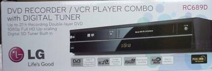 LG RC689D Combo VCR + DVD Recorder Video Player Copy DUB VHS to D