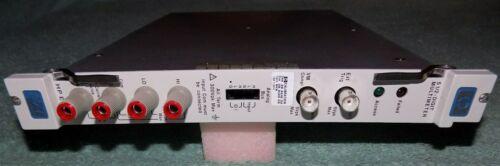HP 75000 Series C E411B 5 1/2 Digit Multimeter VXI Module #25