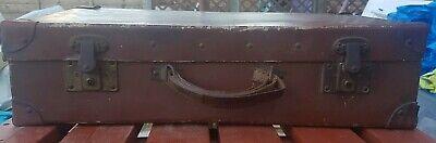Vintage 1930s  travel suitcase /display