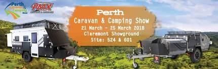 The Perth Caravan & Camping show - this week