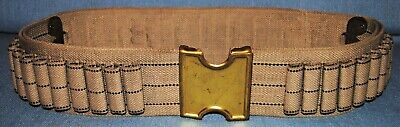1905 Dated Commercial Mills Belt & Buckle for .45/70 Ammo