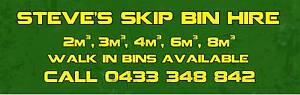 Steve's Skip Bin Hire Caroline Springs Melton Area Preview