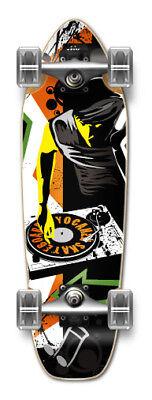 MixItUp Graphic Complete Longboard Mini Cruiser Skate ()