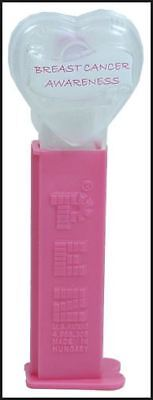 BREAST CANCER AWARENESS PEZ - MINT IN BAG - LIMITED EDITION FROM 2004 - Breast Cancer Bags