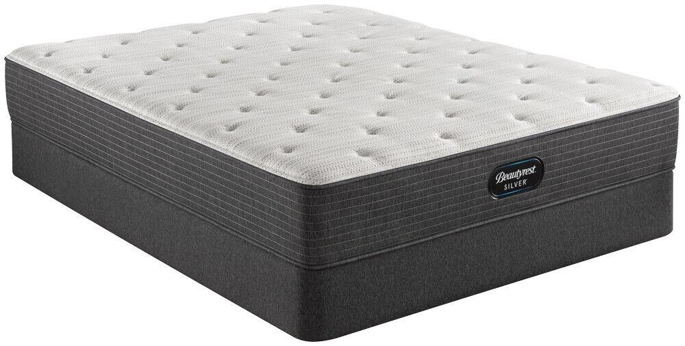 Simmons Beautyrest BRS900 Plush King Size Mattress & Box Set