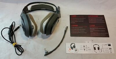 Astro a40 PC PS4 MAC Headset Gray AS IS NO SOUND Parts Repair for sale  Westminster