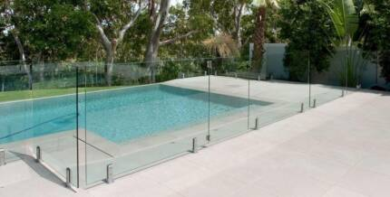 Glass Pool Fencing Frameless